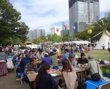 大地に感謝する収穫祭『第10回記念・土と平和の祭典』に参加