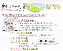 春まつりニュース2013 no.6
