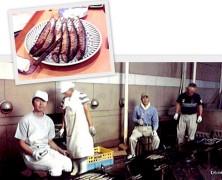 別海実顕地からの贈り物  「秋刀魚」