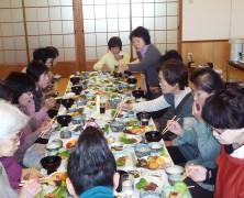 【一志】地元のコーラスグループで食事会をしました