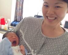 杉崎浩章、桃子夫妻に第一子誕生