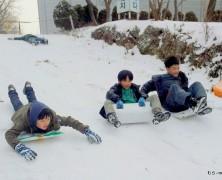 冬の楽園村【韓国】