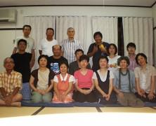 7月の三実顕地交流研は三次実顕地にて
