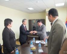 モンゴル国から「海外友好団体表彰」を受賞