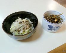 【レシピ】じゃこのマリネ、田つくり風甘辛佃煮