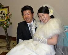 ご結婚おめでとう!幸七くん&和佳ちゃん